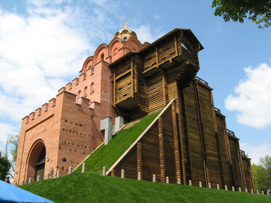 золотые ворота в Киеве - vnoch.com