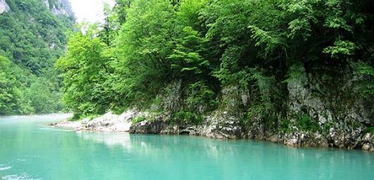 Paradise Lagoon: the Carpathian region have found a miracle of nature